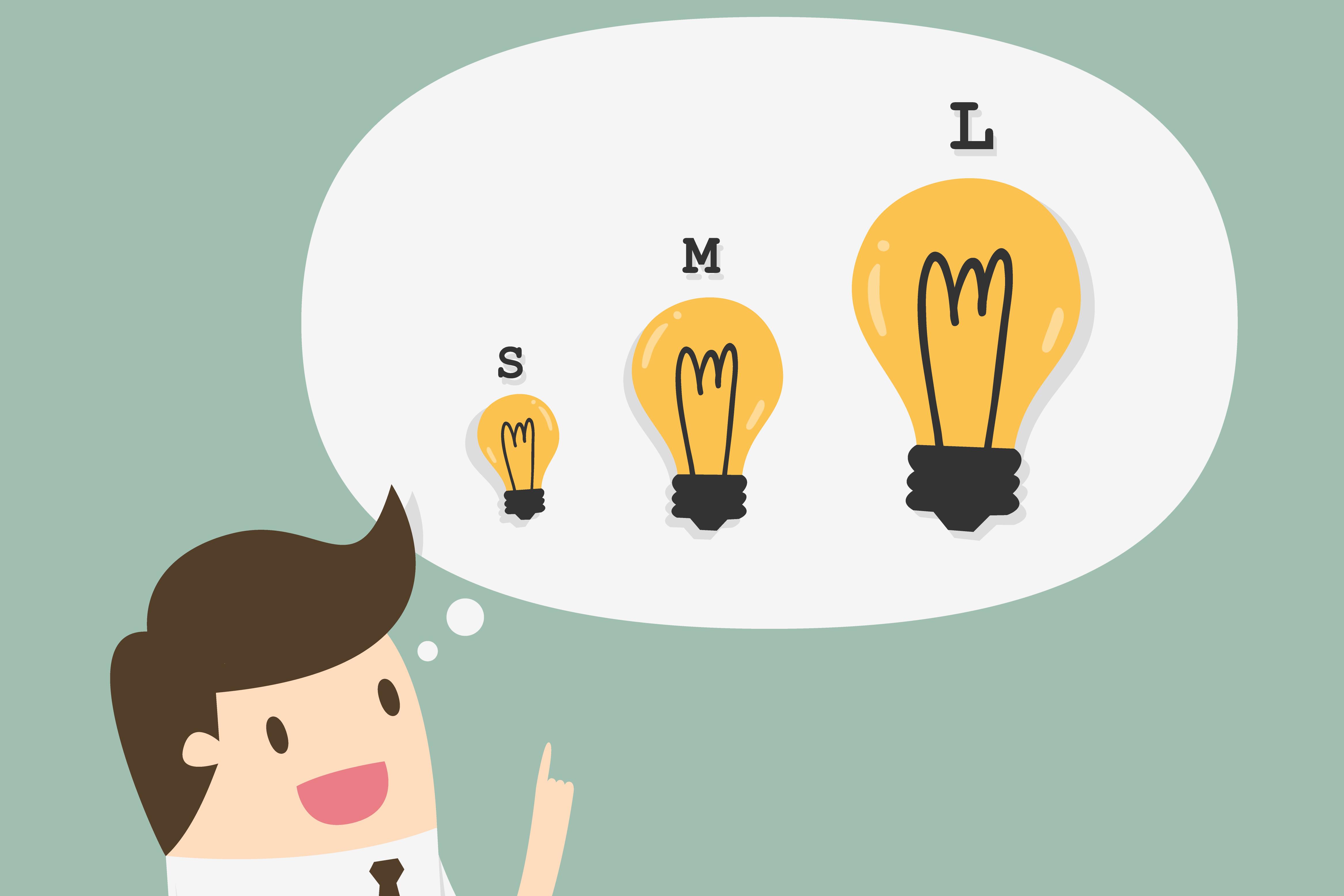 Pequeno, médio e grande: marketing de conteúdo é pra todo mundo